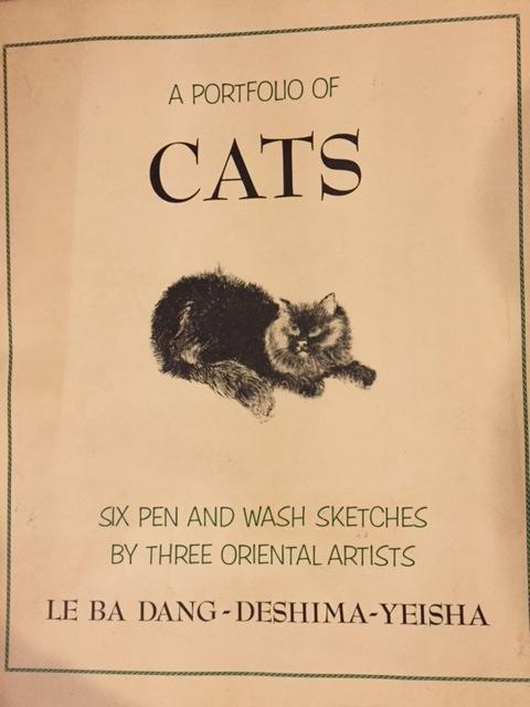 6 Print Portfolio Of Cats Le Ba Dang Deshima Yeisha